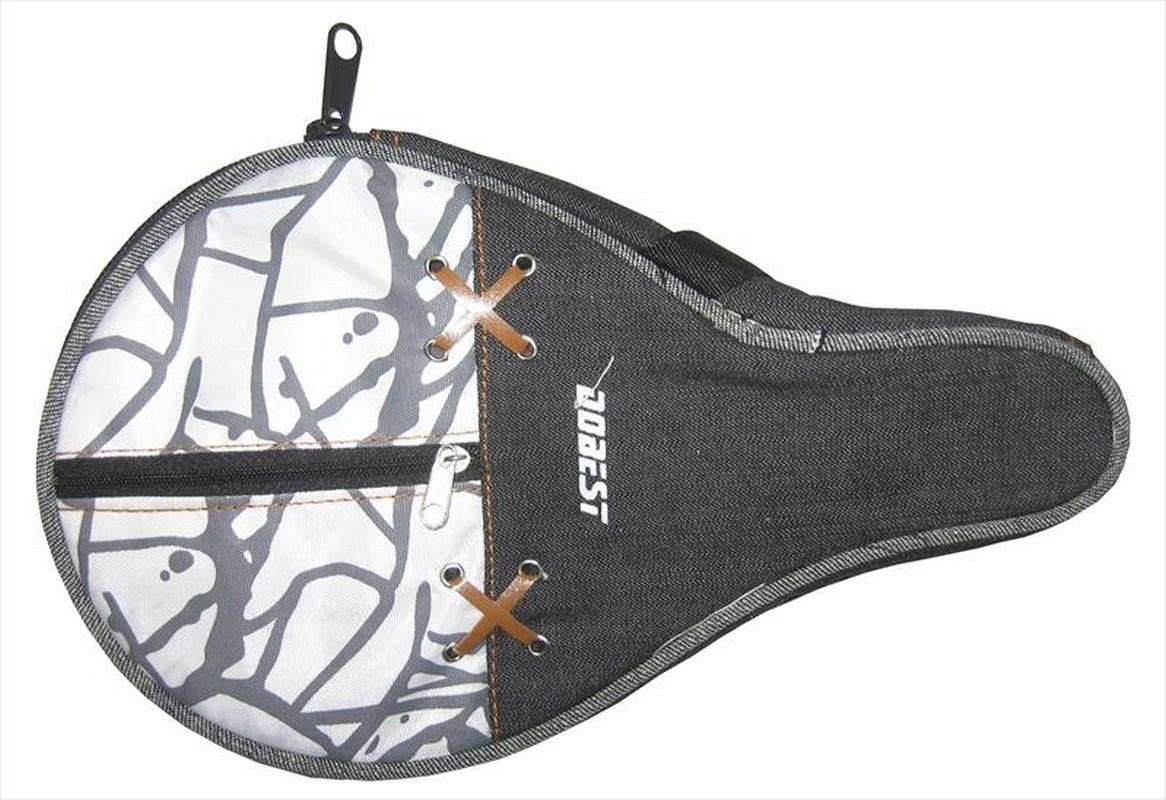 Чехол для ракетки настольного тенниса Dobest 09B-BB чехол по форме ракетки для настольного тенниса одинарный neottec gala синий жёлтый