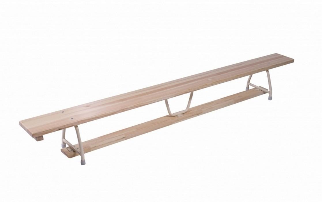 Скамья гимнастическая Pesmenpol 4 м стальные ножки 50 незаменимых упражнений для дома и зала