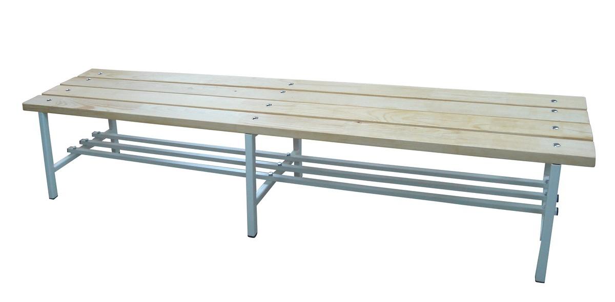 Скамья для раздевалок ФСИ без спинки, L3,0м, 6813