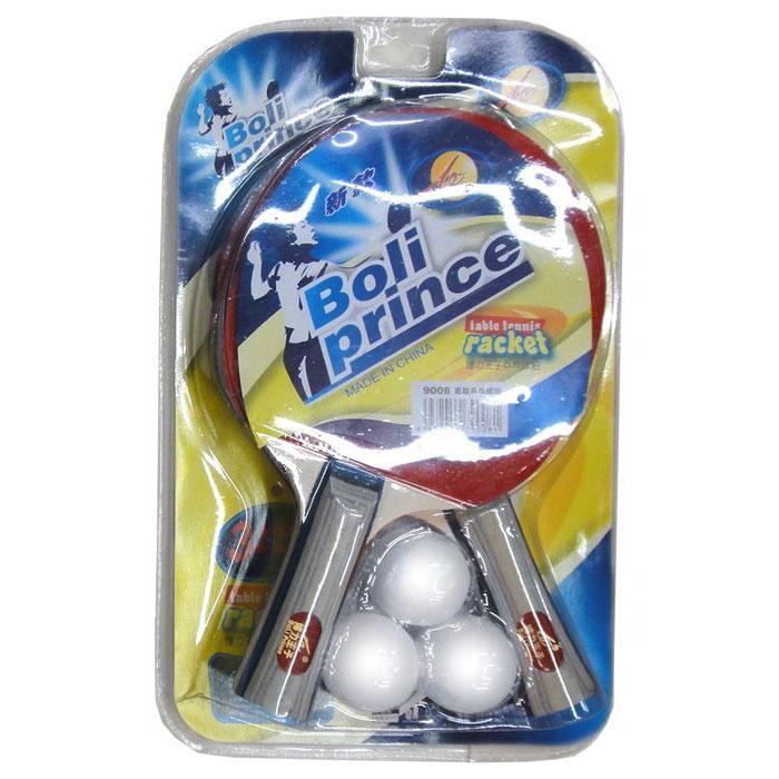 Купить Набор для настольного тенниса (2 ракетки, 3 шарика) H09895, NoBrand