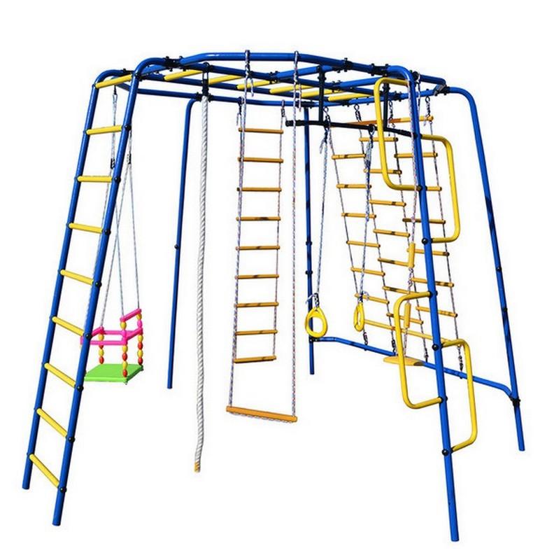 Детский спортивный комплекс уличный Формула здоровья Спутник-1Z Плюс