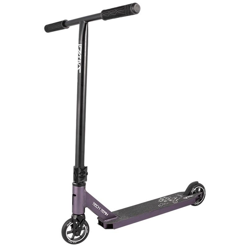 Купить Трюковой самокат Techteam Garm (2020) черный-фиолетовый,
