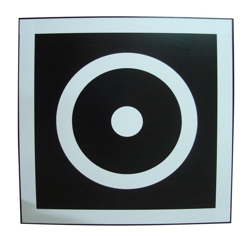 Купить Щит для метания в цель навесной на шведскую стенку ФСИ 60x60 см, ламинированная фанера, 8027,