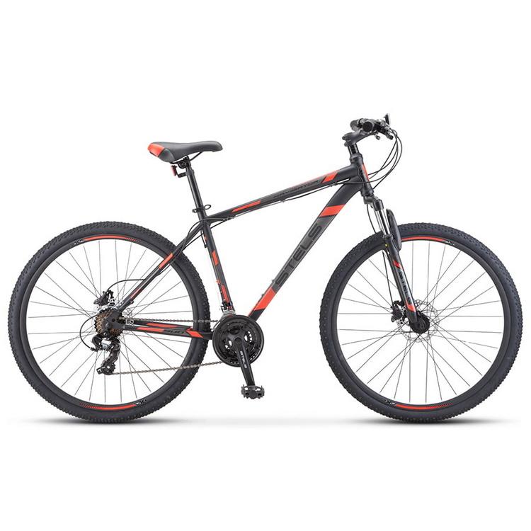 Купить Велосипед Stels Navigator 900 D F010 Чёрный/Красный 29Ø 2020 (LU093939),