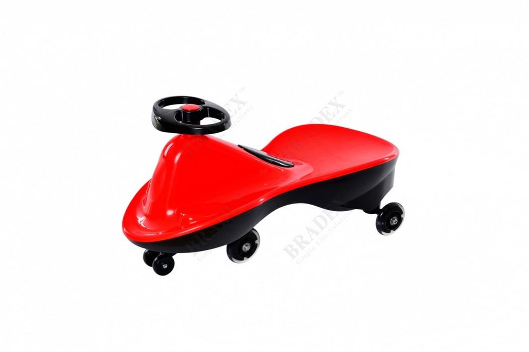 Машинка детская с полиуретановыми колесами Bradex Бибикар спорт красный DE 0268 от Дом Спорта