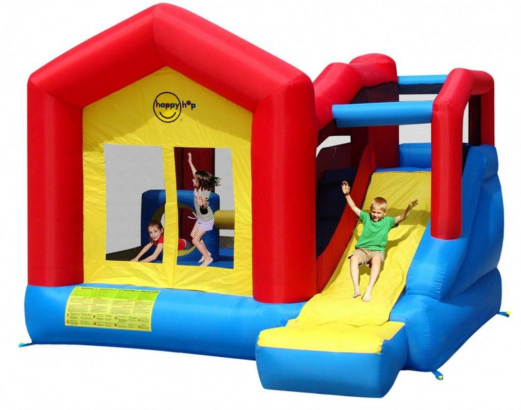 Детский надувной игровой центр Happy Hop Прыг-Скок 9064N