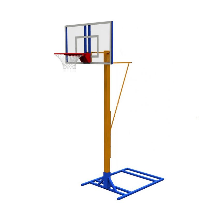 Купить Стойка баскетбольная с регулируемой высотой щита (мобильная) Dinamika ZSO-002771,
