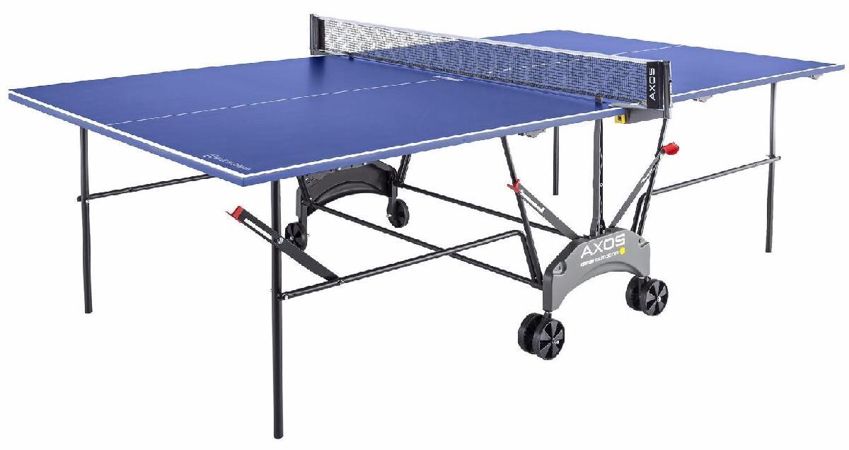 Теннисный стол всепогодный Kettler Axos Outdoor 1 TT table 7047-950 синий
