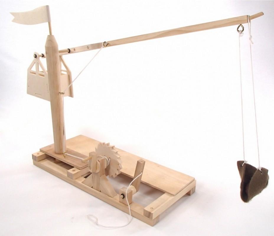 Конструктор из дерева Bradex Катапульта  Леонардо Да Винчи DE 0170