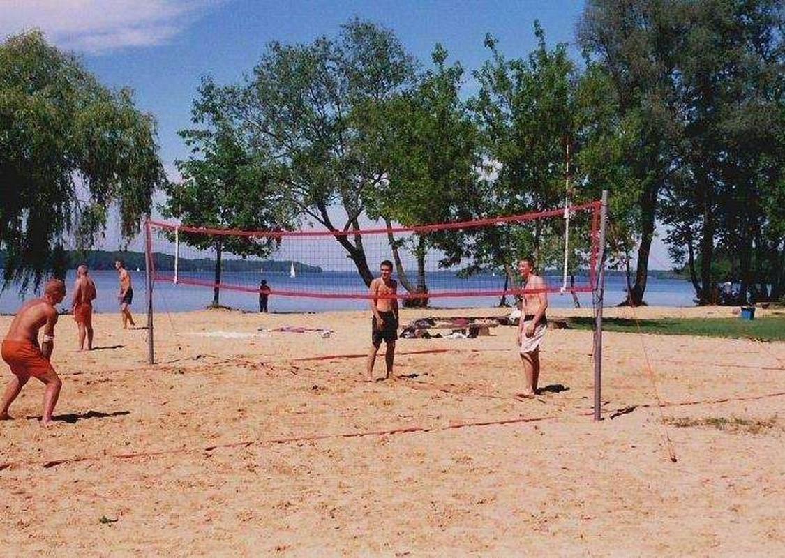 Стойки для пляжного волейбола PolSport любительские 2 шт+ сетка и антенны