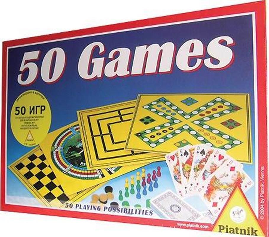 Настольная игра Piatnik 50 игр 780042