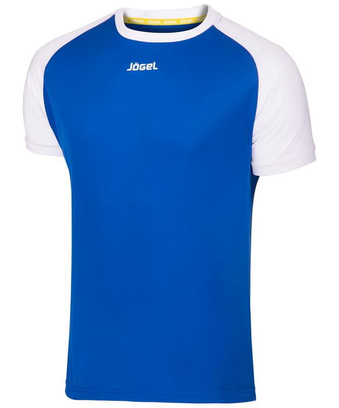 Купить Футболка футбольная Jögel JFT-1011-071 синийбелый,