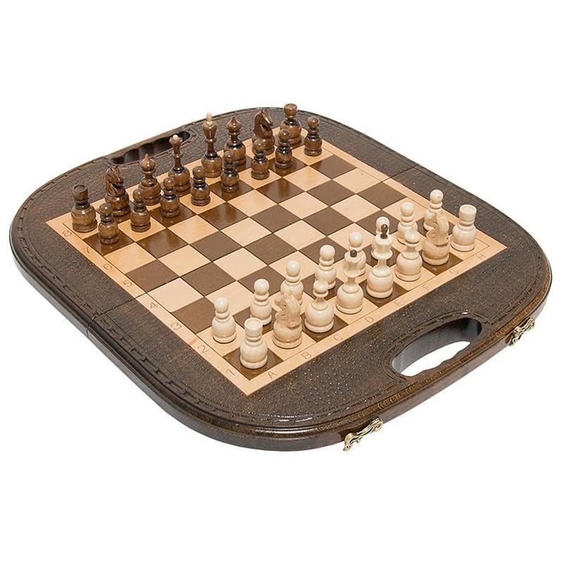 Купить Шахматы, нарды резные Haleyan Овальные 40 kh132-4, шашки, нарды
