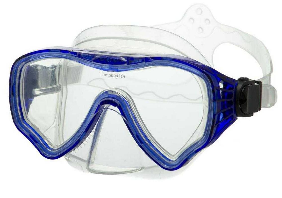 Купить Маска для плавания Atemi 428 синий,