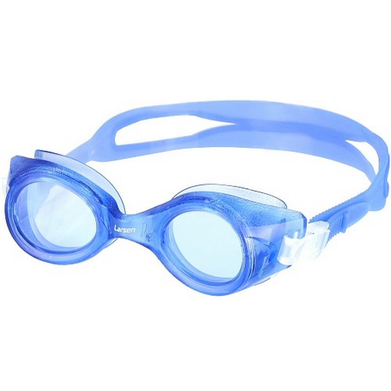 Купить Очки для плавания Larsen S8 синий,