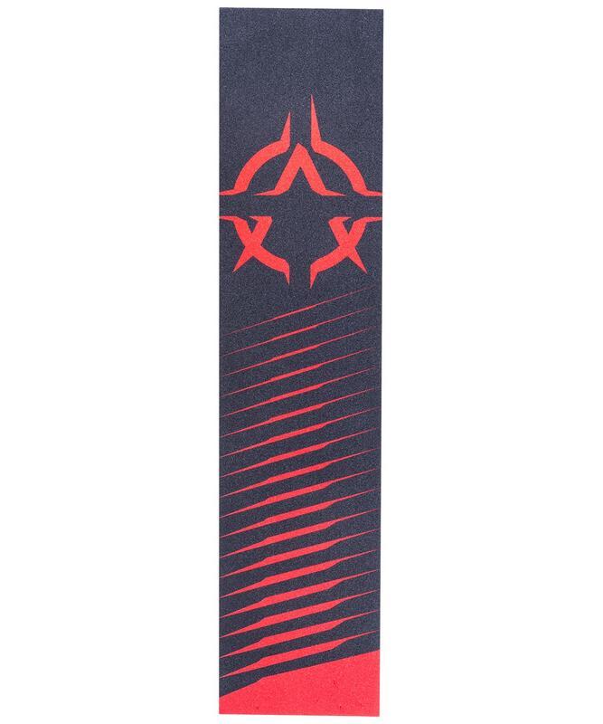 Шкурка для трюкового самоката XAOS Red Logo