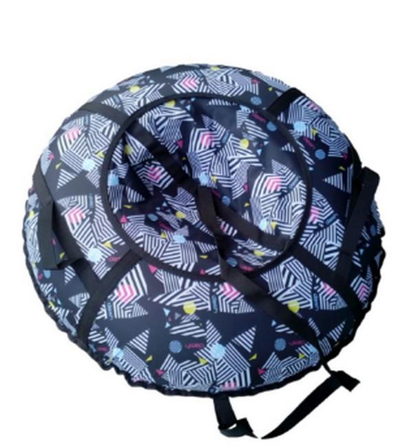 Купить Санки-ватрушка Atemi Дизайн D=90 см (сумка) с молнией,