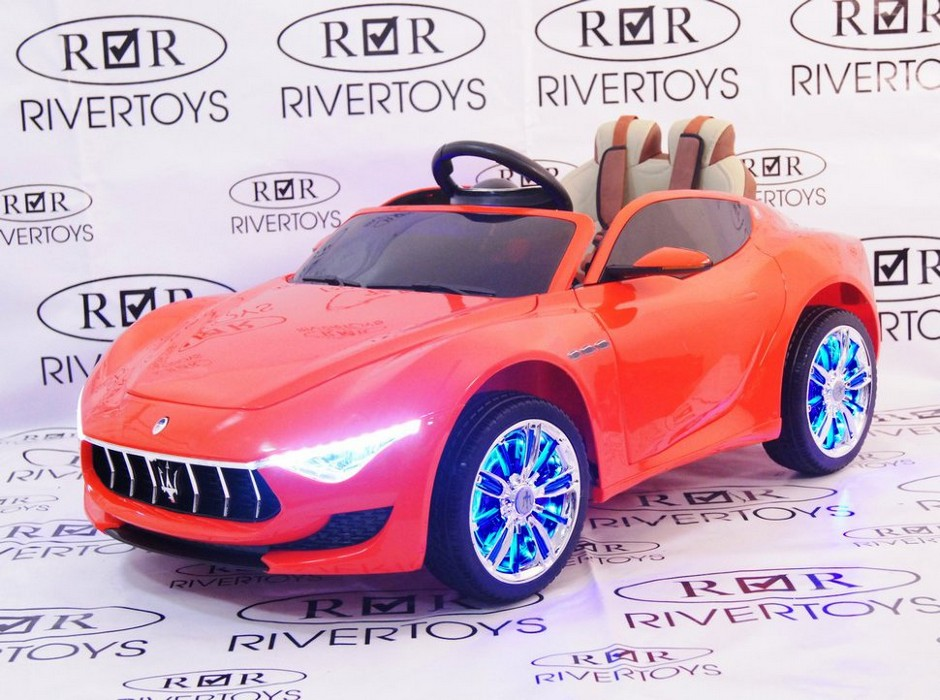 Лицензионный детский электромобиль River-Toys Maserati A005AA