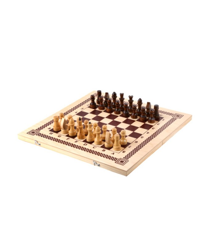 Купить Игра 3 в1 шашки, шахматы, нарды 40х20х3, 6 см, NoBrand, Шахматы, шашки, нарды