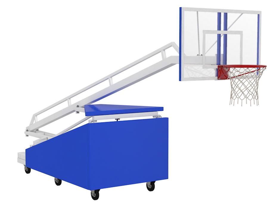 Купить Стойка Баскетбольная мобильная складная игровая Glav 01.117,