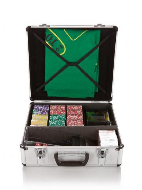 Набор для покера и блэк-джека на 600 фишек без номинала bez600 фишки для покера pokechip 5pcs 11 fichas e30