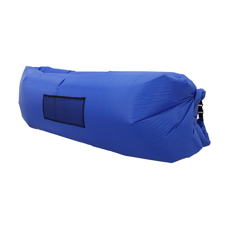 Надувной лежак Lamzac синий