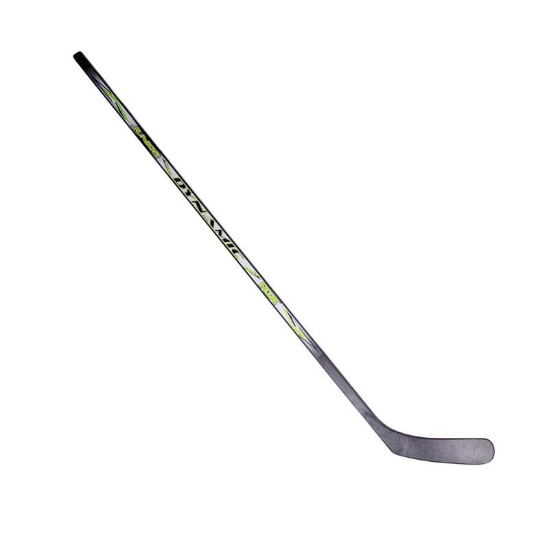 Клюшка хоккейная RGX Junior Dynamic Black/Green L 136см клюшка хоккейная rgx youth code active blue l 107 см синий