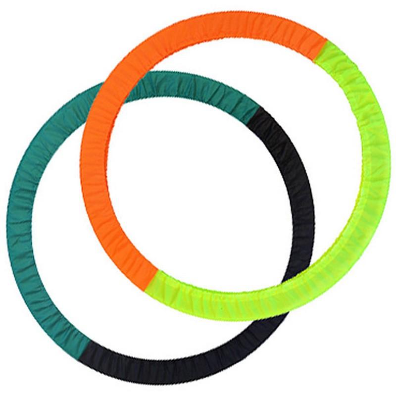 Купить Чехол для обруча ЧО-900-6 универсальный 2-х цветный (зелено-черный) d-900 мм., NoBrand