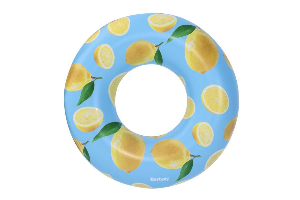 Надувной круг 119см Scentsational с запахом лимона, от 12 лет Bestway 36229