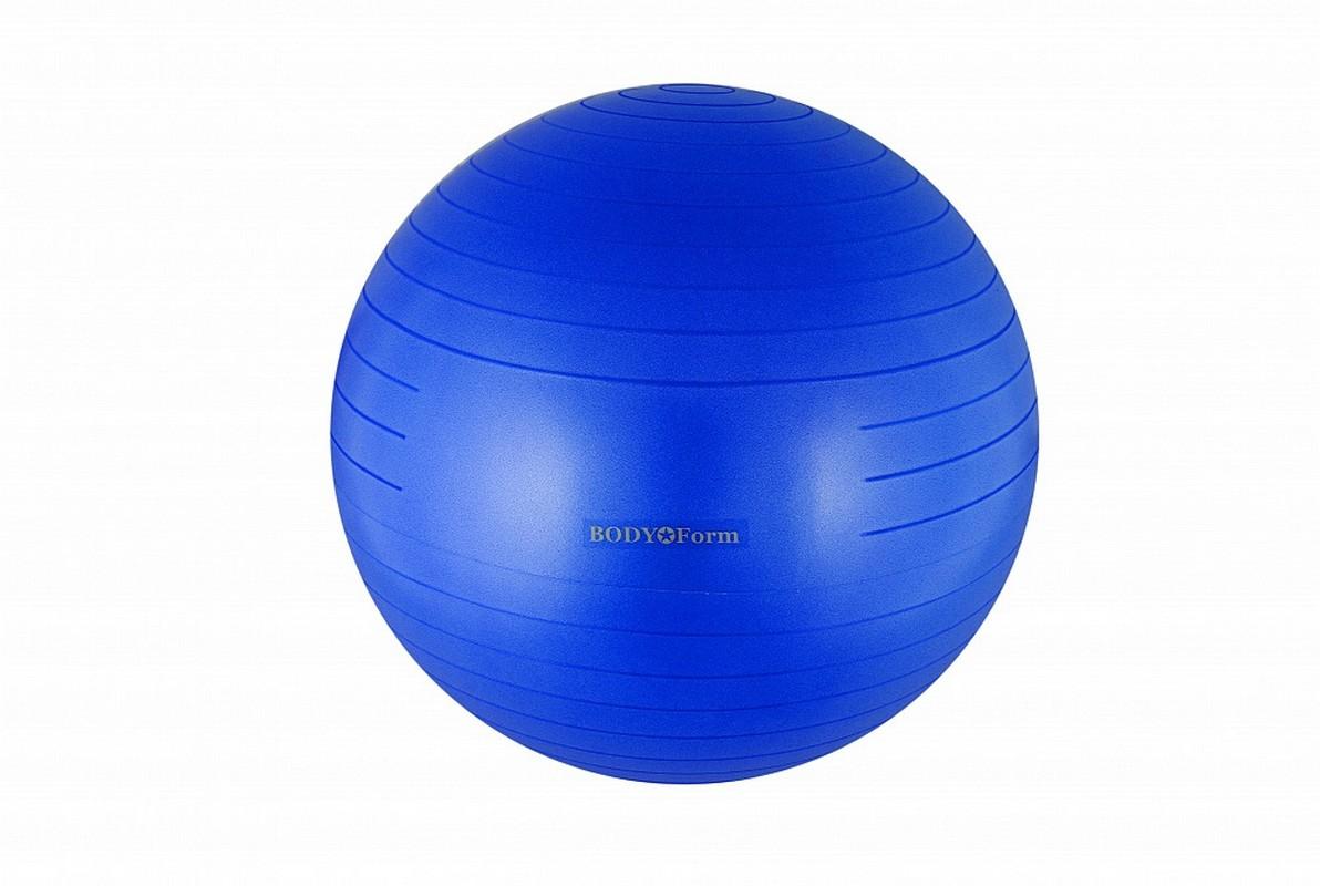 Купить Мяч гимнастический Body Form BF-GB01AB (34 ) 85 см антивзрыв синий,