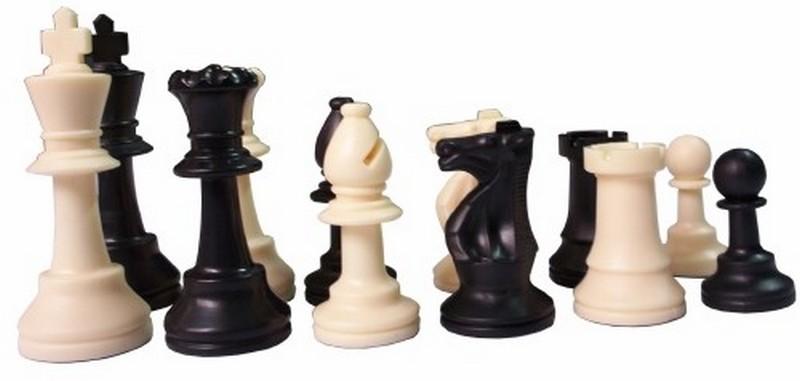 Купить Пластиковые шахматы с утяжелителем ШФ 4, NoBrand