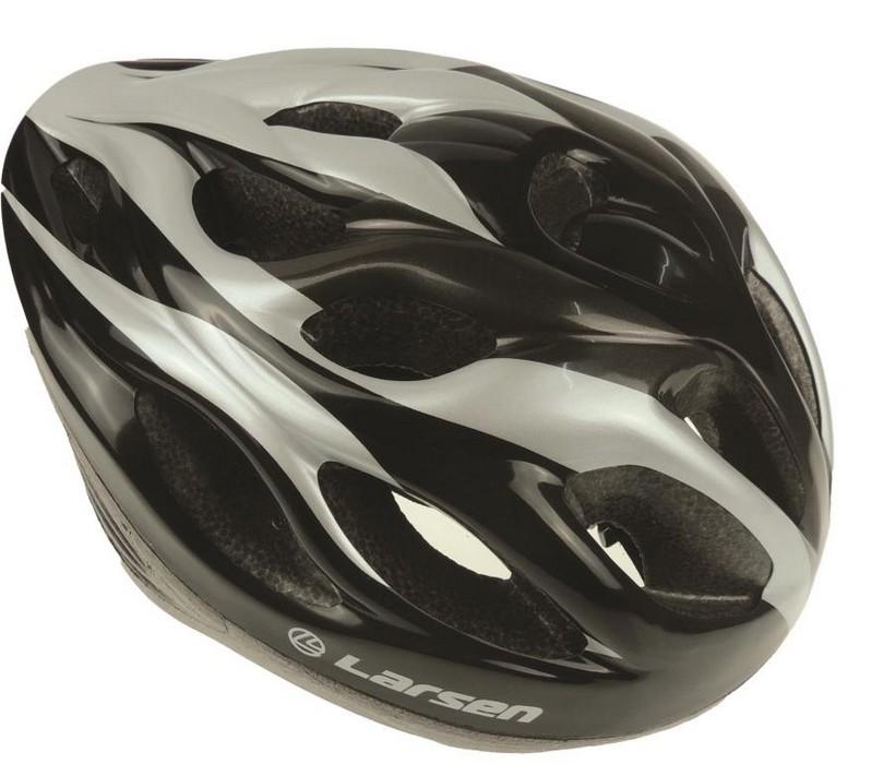 Шлем роликовый раздвижной Larsen H3BW 54-57см
