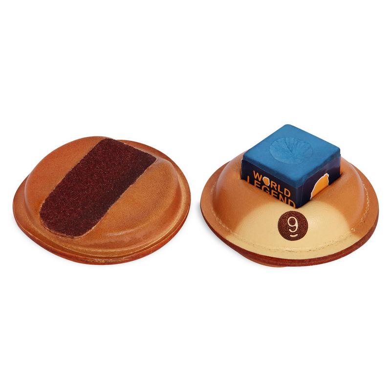 Купить Инструмент для обработки наклеек-держатель мела SX-3 кожаный 04658, NoBrand