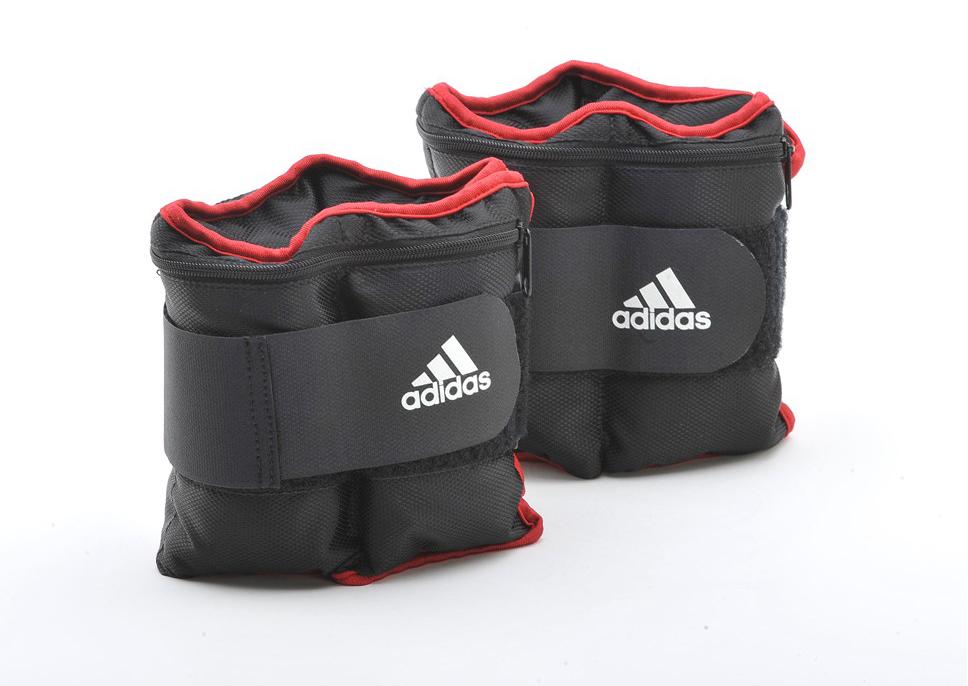 Утяжелители на запястья/лодыжки, (2шт х 2кг) Adidas ADWT-12230 (пара) цена