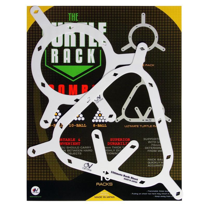 Набор держателей для шаров Mezz Turtle Rack Combo ?57,2мм 10 шт.