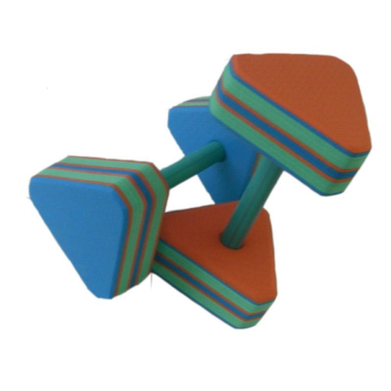 Купить Аквагантели ДИС18 треугольные, мультиколор, NoBrand