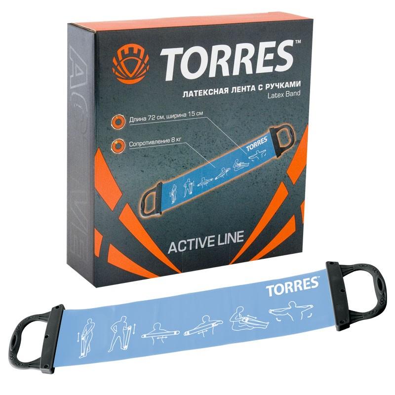 Эспандер Torres AL0025, голубой inform nutrition super flex для собак для улучшения подвижности суставов 150мл