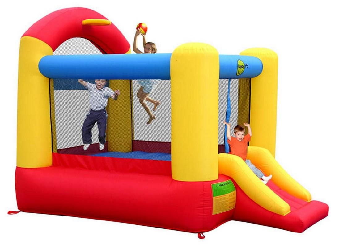 Детский надувной Батут Happy Hop Высокий прыжок 9304N