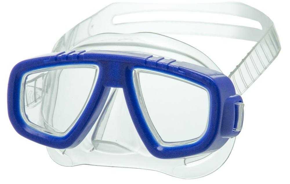 Купить Маска для плавания Atemi детская 431 синий,