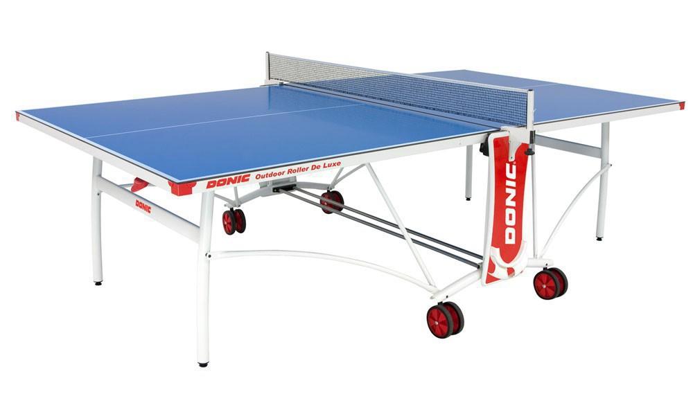 Всепогодный теннисный стол Donic Outdoor Roller De Luxe 230232-B фото