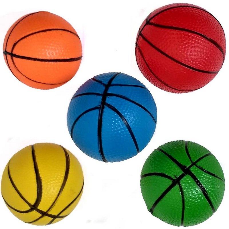 Купить Мяч надувной с рисунком d7,5 см C33384-4 желтый, NoBrand