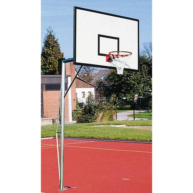 Купить Стойка баскетбольная алюминиевая стационарная Glav 01.111,