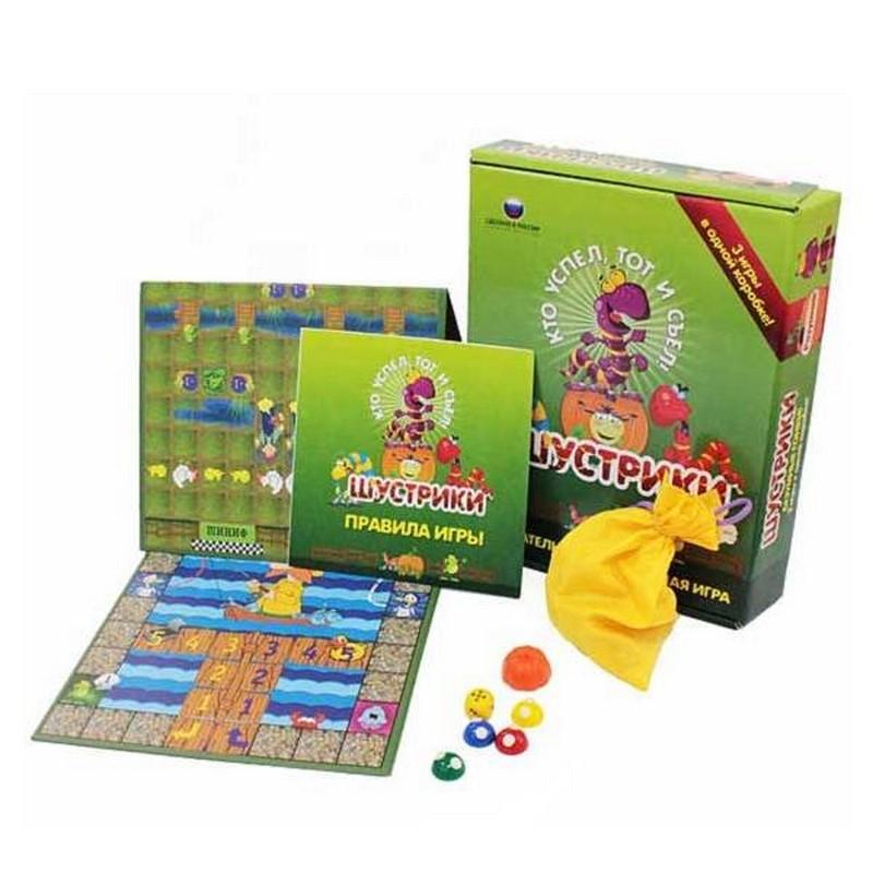 Купить Настольная игра Шустрики (3 игры) bp10024, Настольные игры