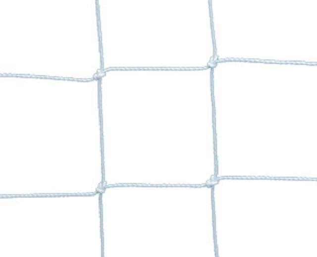 Сетка для ворот водного поло, D=4мм, белая опорные ролики для откатных ворот