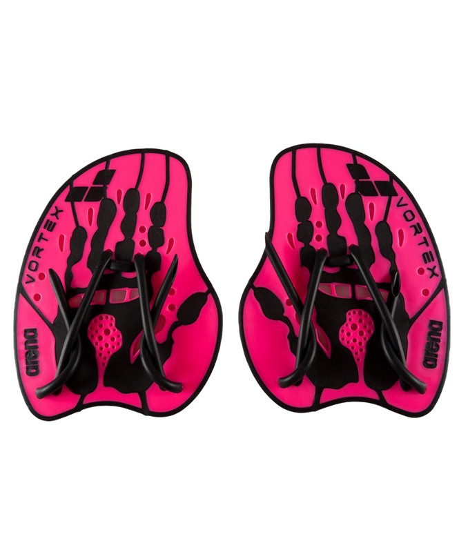 Лопатки Arena Vortex Evolution Hand Paddle 95232 95, размер L, Pink/Black