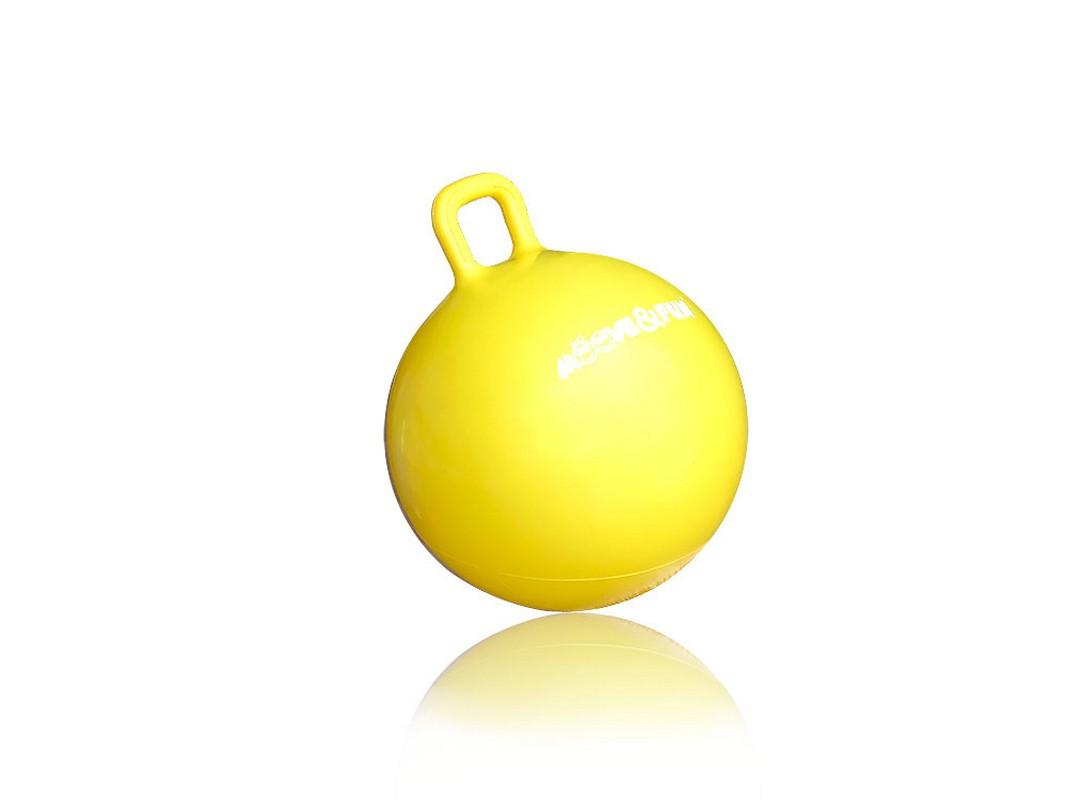 Мяч-попрыгун Moove Fun с ручкой, диаметр 45 см MF-HPB-45-02 мяч попрыгун veld co с одной ручкой 50 см