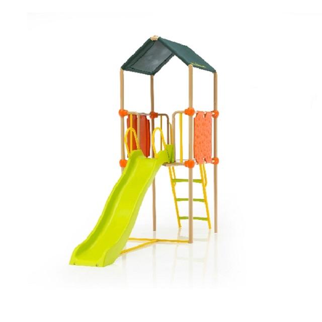 Детский игровой комплекс городок с башней и горкой, зеленый Kettler S01013-0000 kettler s01013 0000