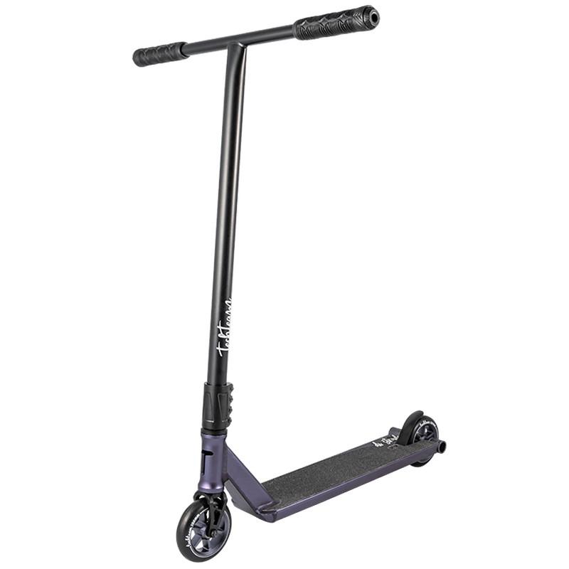 Купить Трюковой самокат Techteam Di Strada (2020) черный-фиолетовый,