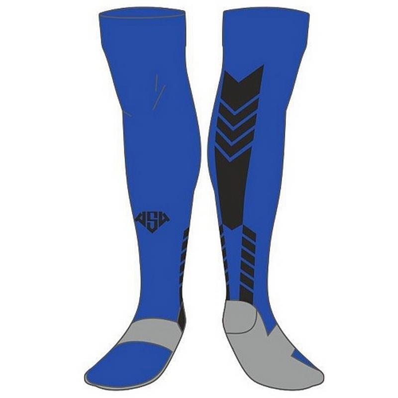 Гетры футбольные AS4 А15-660 761, цвет  синий