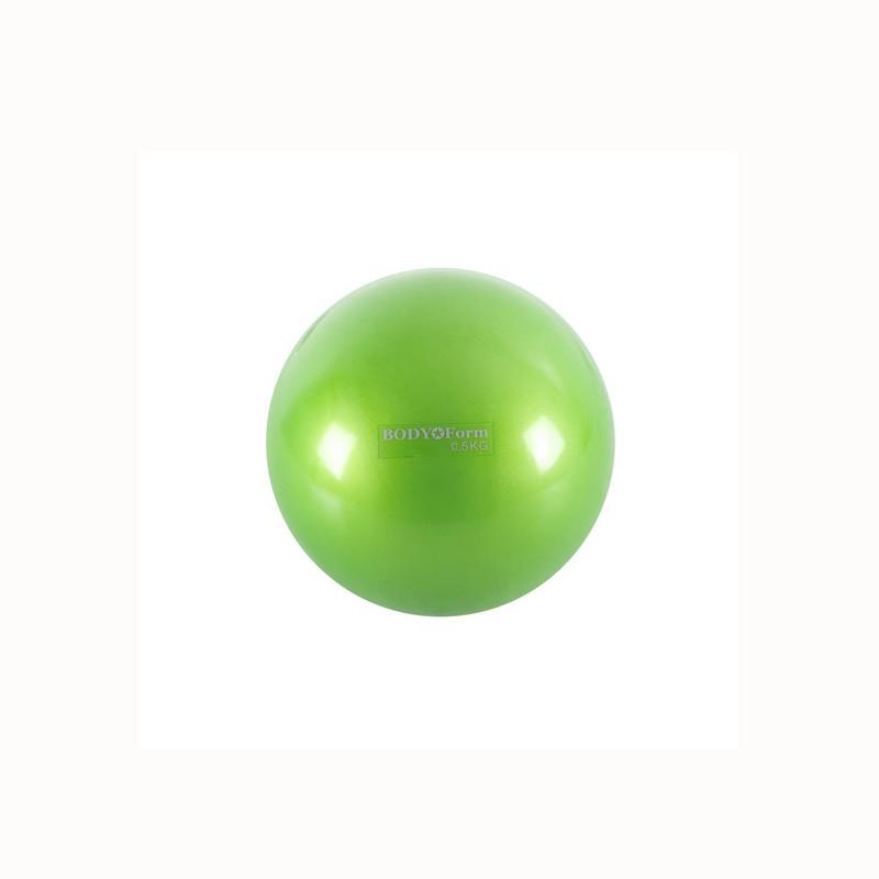 Мяч для пилатеса Body Form BF-TB01 0,5 кг D=10 см зеленый